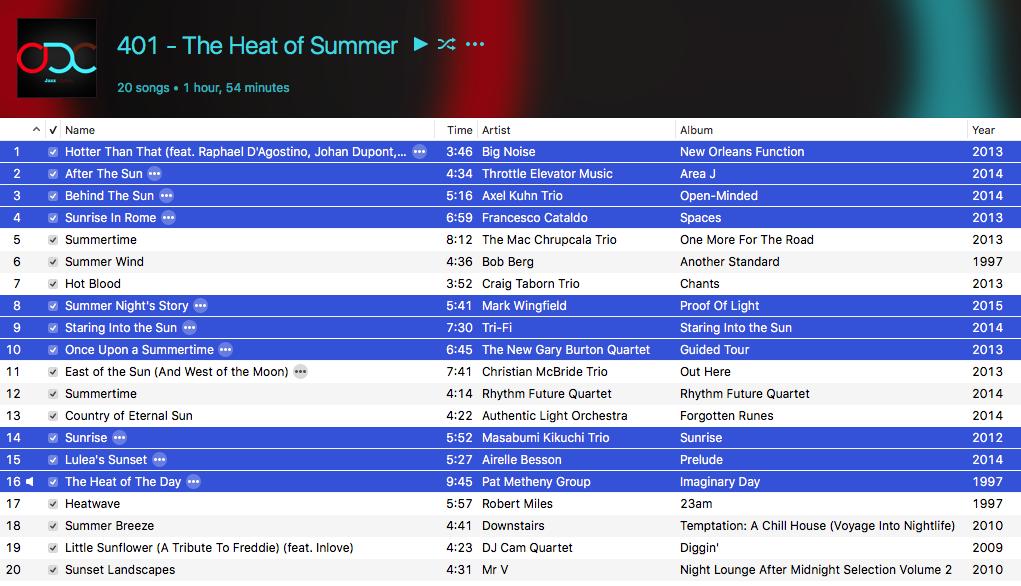 401 – The Heat of Summer